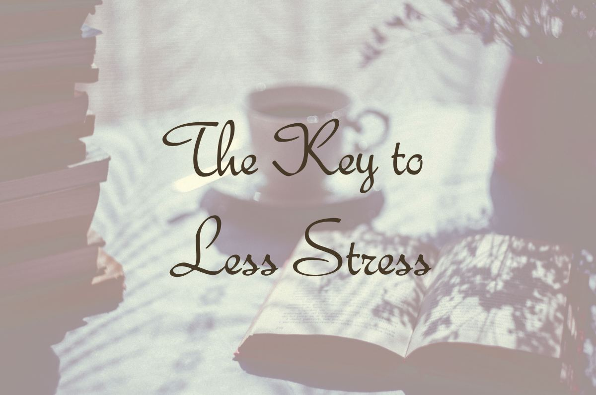 The Key to Less Stress